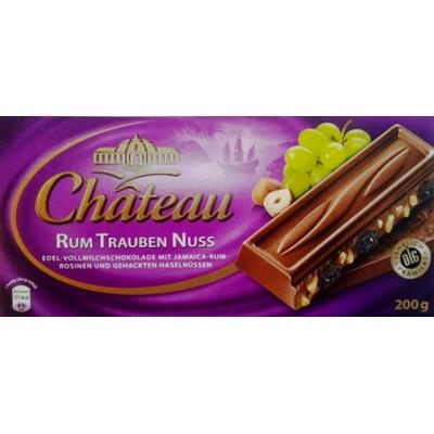 Шоколад Chateau Rum Trauben Nuss