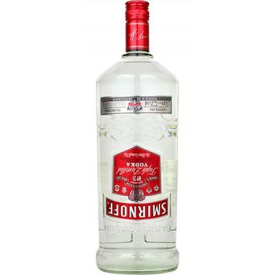 Водка Smirnoff Red Triple Distiled Vodka 1.5л
