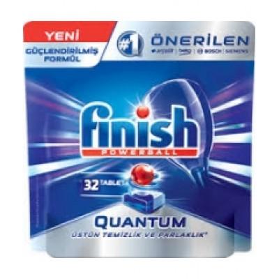 Таблетки для ПСМ Finish Quantum Powerball 30шт.
