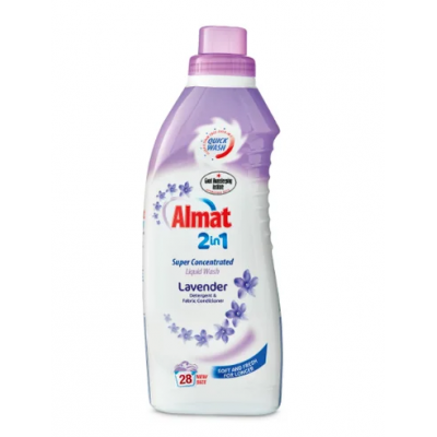 Гель для стирки Almat Super Concentrated 2 in 1 Lavender 28 Lavage
