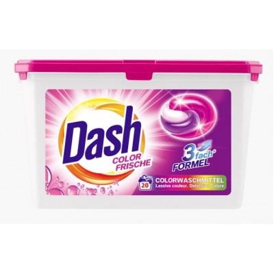 Капсулы для стирки Dash Color Frische