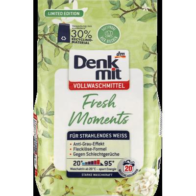 Порошок DenkMit Vollwaschmittel Fresh Moments 20W