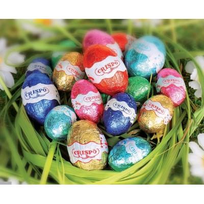 Шоколадные яйца Easter Ovetti di Cioccolato Crispo