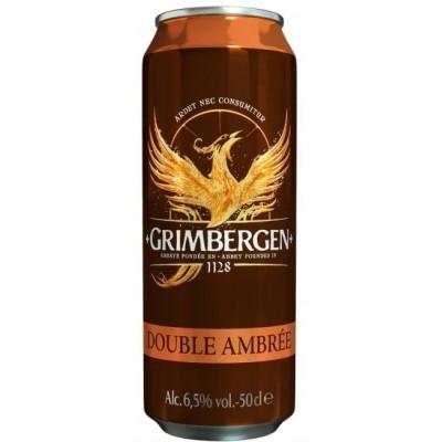 Пиво Grimbergen Double Ambrée
