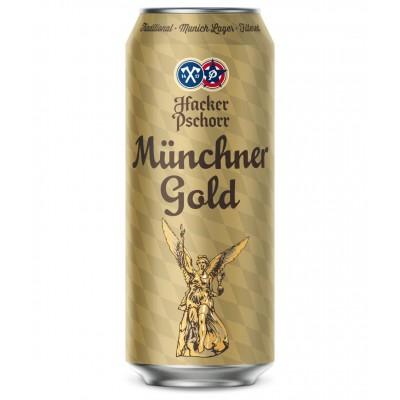 Пиво Hacker Pschorr Munchner Gold
