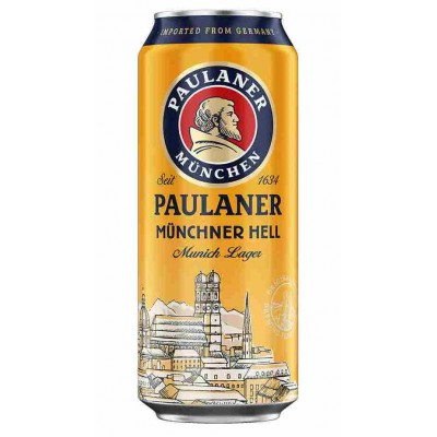 Пиво Paulaner Munchner Hell