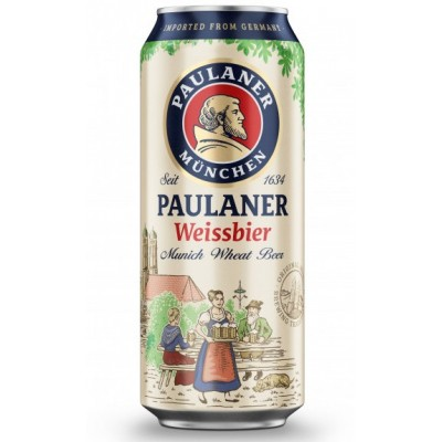 Пиво Paulaner Weissbier Naturtrub