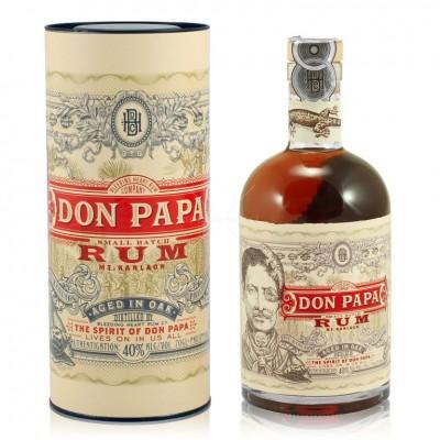 Ром Don Papa Small Batch Rum with box