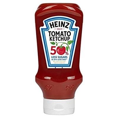 Кетчуп Heinz 50% Less Sugar and Salt 550 гр.