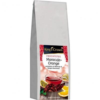 Чай King's Crown Früchtetee Maracuja-Orange