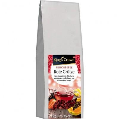 Чай King's Crown Früchtetee Rote Grütze