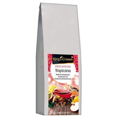 Чай King's Crown Früchtetee Tropicana