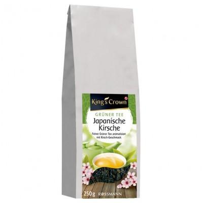 Чай King's Crown Grüner Tee Japanische Kirsche
