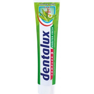 Зубная паста Dentalux Complex 3 Krauter Fresh