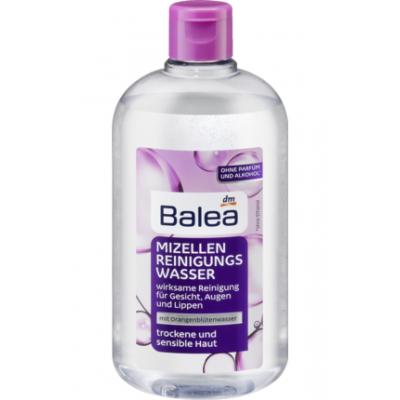 Мицелярная вода Balea Mizellen Reinigungswasser mit Orangenblütenwasser