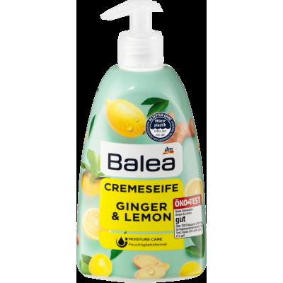 Жидкое мыло Balea Creme Seife Ginger & Lemon