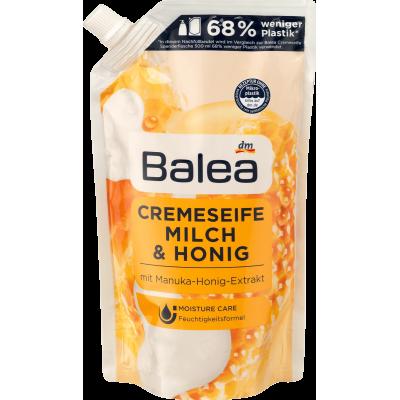 Жидкое мыло Balea Creme Seife Milch & Honig (запаска)