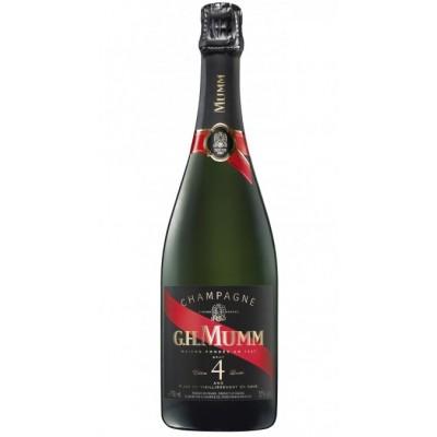 Champagne G.H. Mumm 4 Ans Cordon Rouge Brut Edition Limitée