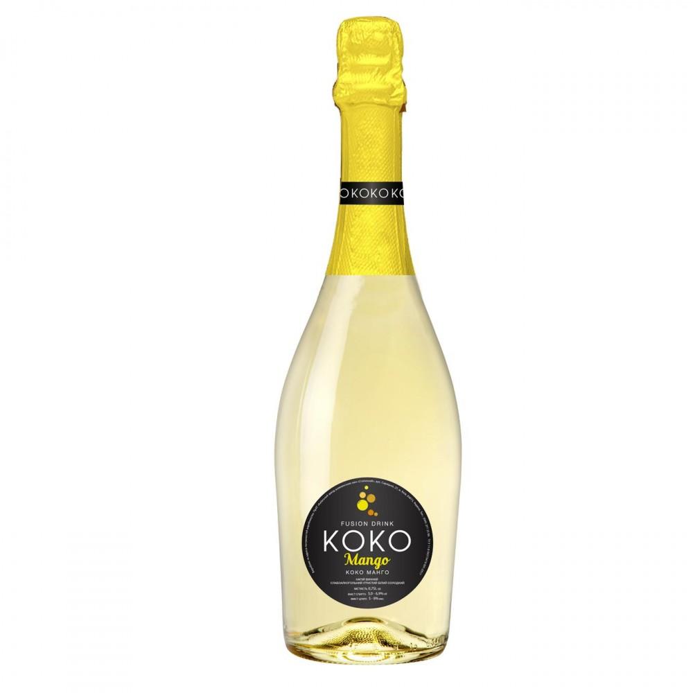 Koko Mango Fusion Sparkling Drink