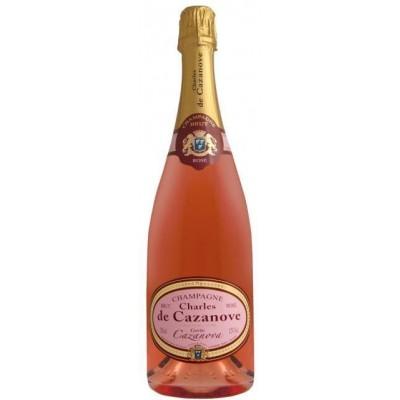 Champagne Charles de Cazanove Brut Rosé Cuveé Cazanova