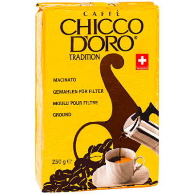 Кофе молотый Chicco d'Oro Tradition