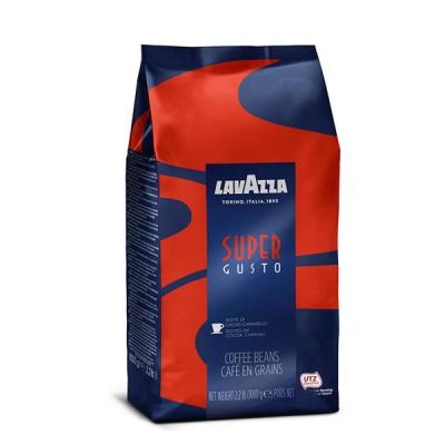 Кофе в зернах LavAzza Super Gusto
