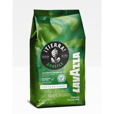 Кофе в зернах LavAzza Professional ¡TIERRA! Brasile Premium Blend (зел.)
