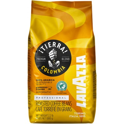 Кофе в зернах LavAzza Professional ¡TIERRA! Colombia Premium Blend