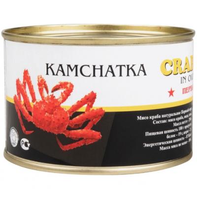 Мясо Камчатского краба Kamchatka Extra