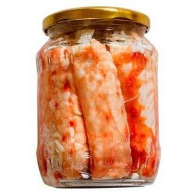 Мясо Камчатского краба Crab Meat Extra 520гр.