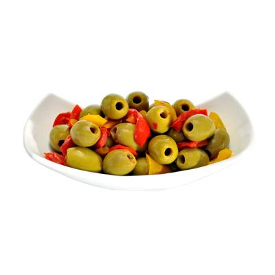 Olive Verdi al Peperone (фас)