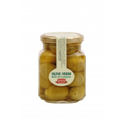 Оливки Гигантские Olive Verdi Bella di Cerignola Mazza