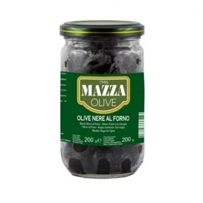 Оливки Olive Nere al Forno Mazza