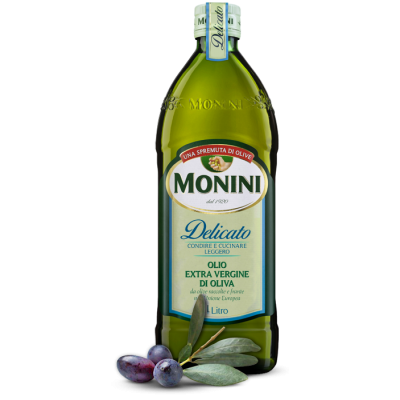 Olio Monini Extra Vergine di Oliva Delicato