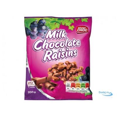 Изюм в шоколаде Schoko Rosinen Mister Choc