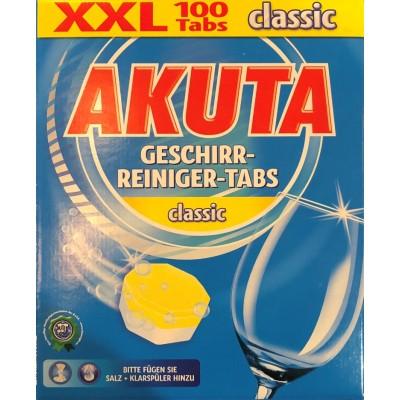 Таблетки для ПСМ Akuta Geschirr-Reiniger-Tabs Classic
