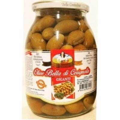 Оливки Olive Bella di Cerignola Giganti (стекло)