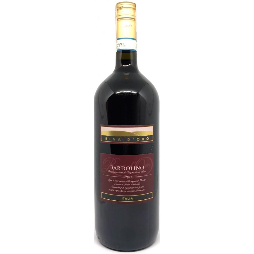 Вино Bardolino D.O.C. Riva d'Oro 2017 Magnum 1500мл.
