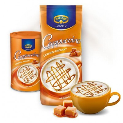 Cappuccino Krüger Family Caramel-Krokant