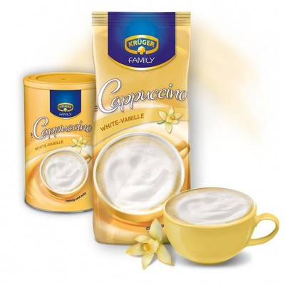 Cappuccino Krüger Family White-Vanille