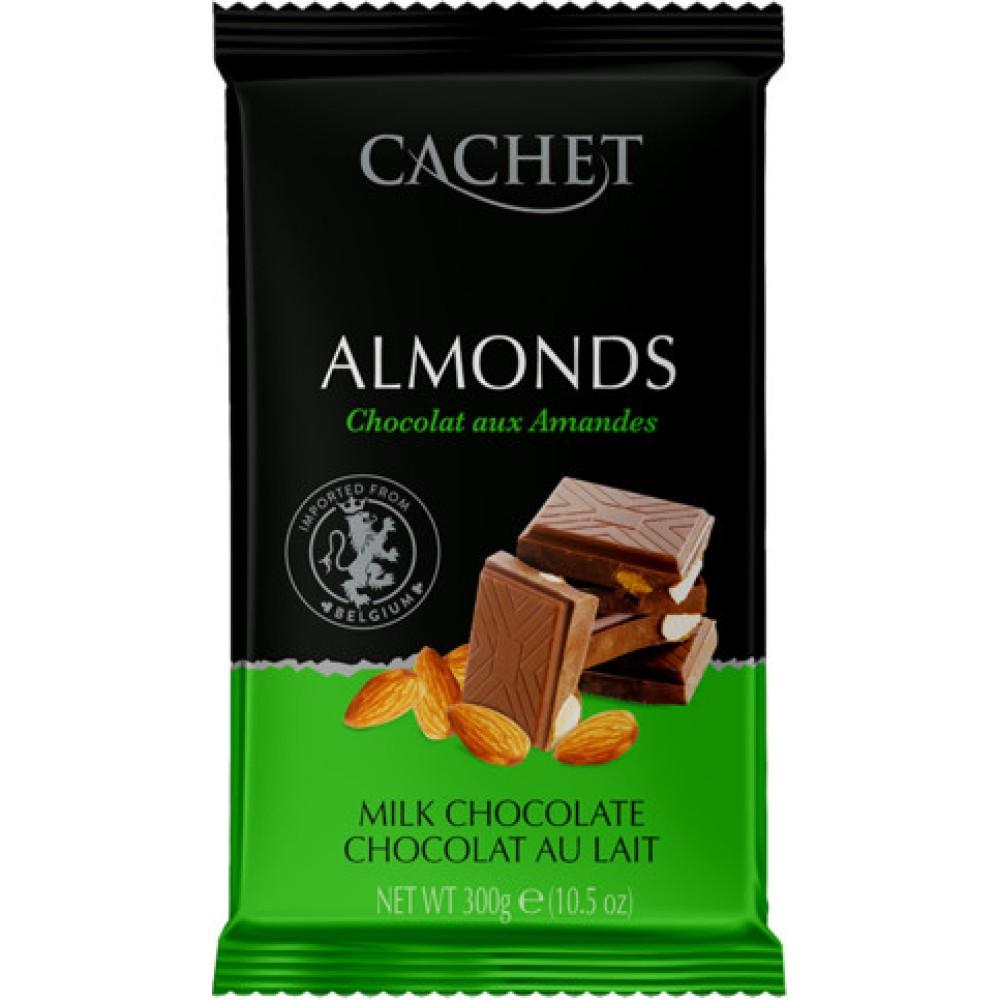 Шоколад Cachet Chocolat au Lait aux Amandes