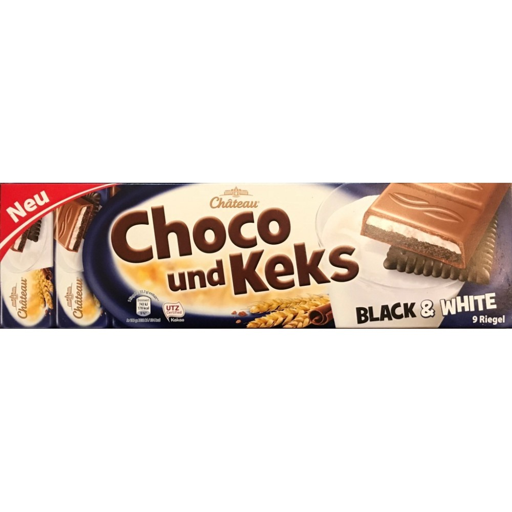 Шоколад Chateau Choko und Keks Black & White