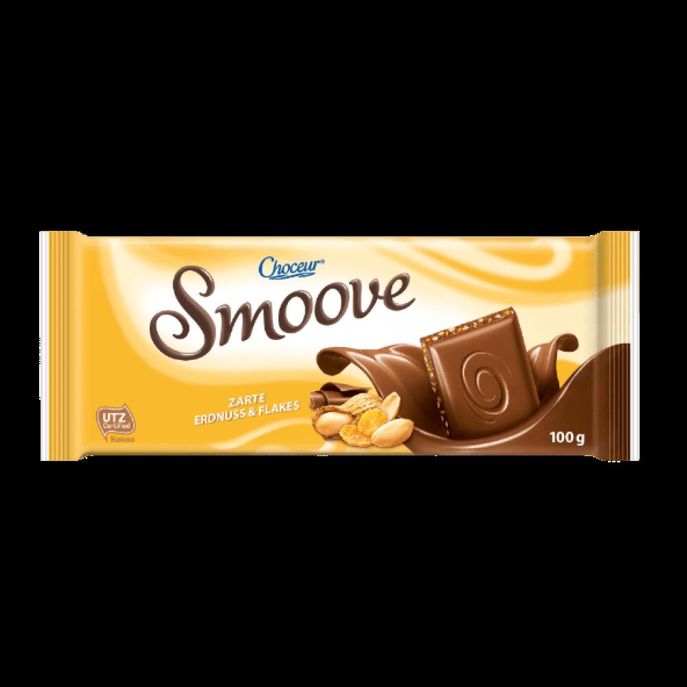 Шоколад Chateau Smoove Erdnus & Flakes