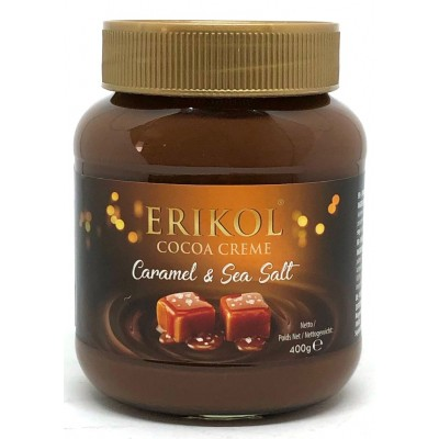 Шоколадная паста Erikol Caramel & Sea Salt