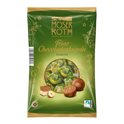Шоколадные конфеты Moser Roth Feine Kugeln Noisette