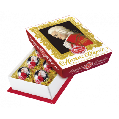 Шоколадные конфеты Reber Mozart Kugeln 120 г.