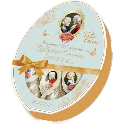 Шоколадные конфеты Reber Mozart Oster-Eier Frohe Ostern 140 г.