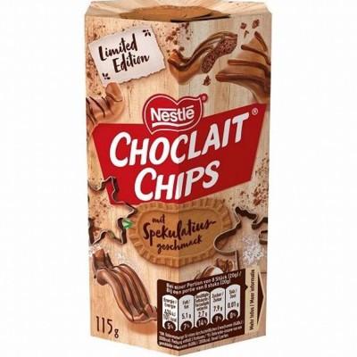 Шоколадные чипсы Nestle Choclait Chips mit Speculatius Geschmack