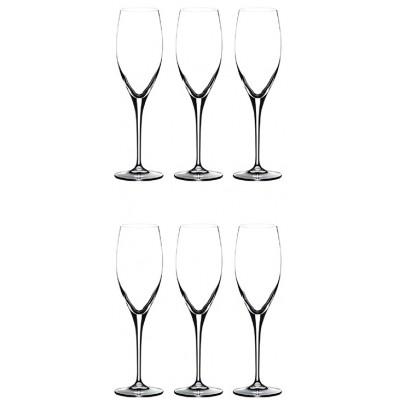 Бокалы Riedel Restaurant XL Champagne set of 6 glasses 330 мл.