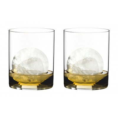 Стаканы Riedel H2O Classic Bar Whisky set of 2 glasses 430 мл.